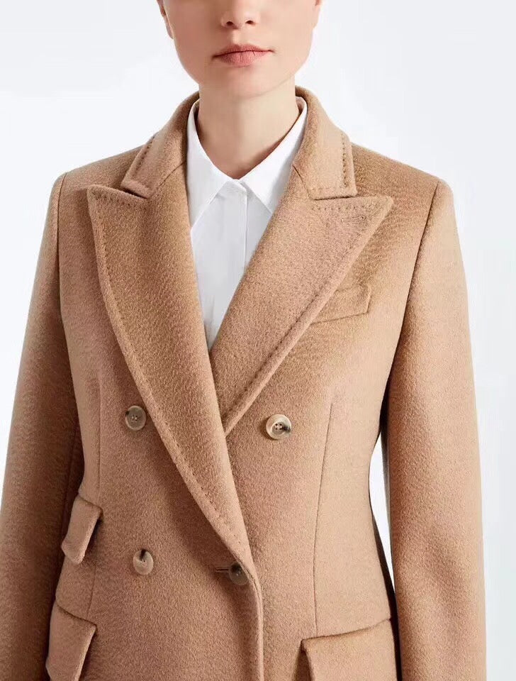 Double Breasted Tailored Coat