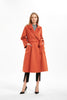 The Classic Wrap Coat Burnt Orange