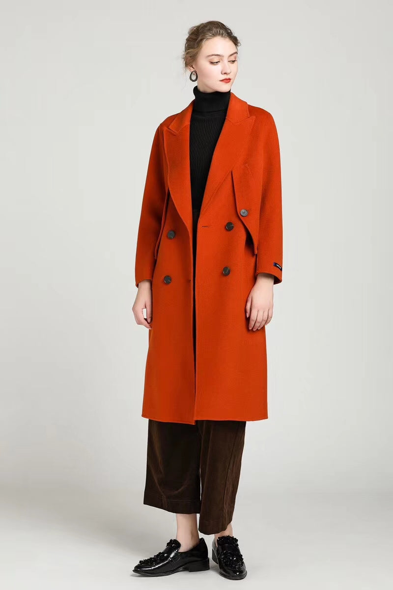 Cashmere Cape Coat
