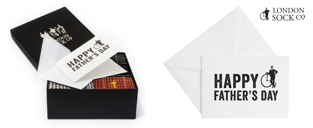 Collaboration -Limited Edition Cards with The London Sock Co.