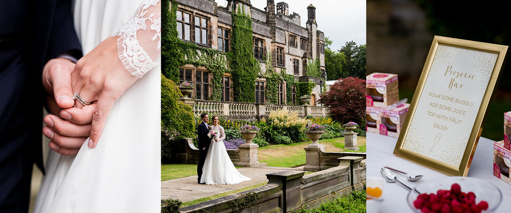 Real wedding Thronbridge Hall