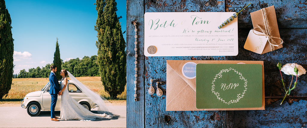 Real Wedding: Beth & Tom's Stunning Italian Wedding