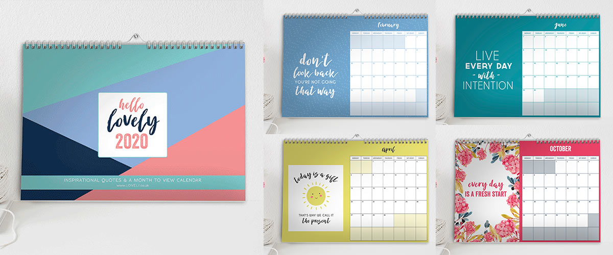 LoveLi - Inspirational Quote Calendar 2020