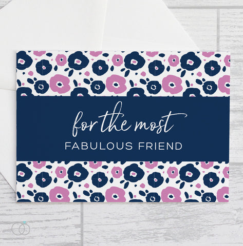 Fabulous Friend - Valentine's Day Card - LoveLi