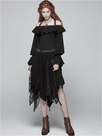 MAERWYNN BLACK SKIRT