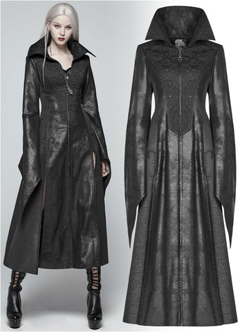 BLACK DRAGONFLY COAT