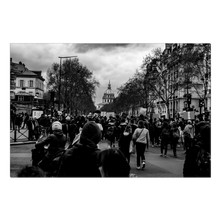 Load image into Gallery viewer, protests in paris canvas print