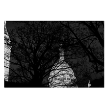 Load image into Gallery viewer, sacre-coeur at night canvas print