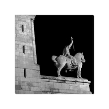Load image into Gallery viewer, horseman at sacre-coeur canvas print