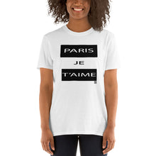 Load image into Gallery viewer, paris je t'aime t-shirt