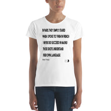 Load image into Gallery viewer, paris by mark twain t-shirt
