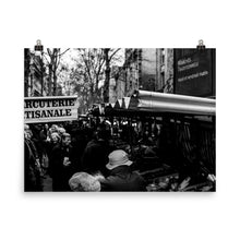 Load image into Gallery viewer, parisian weekend market poster
