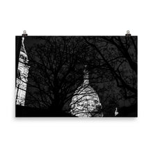 Load image into Gallery viewer, the sacre-coeur at night poster