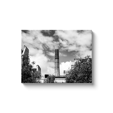 Load image into Gallery viewer, High Quality Paris Canvas Print - View From Jardin Des Rosiers | Paris Noir & Blanc