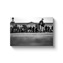 Load image into Gallery viewer, louvre pont des arts paris canvas print