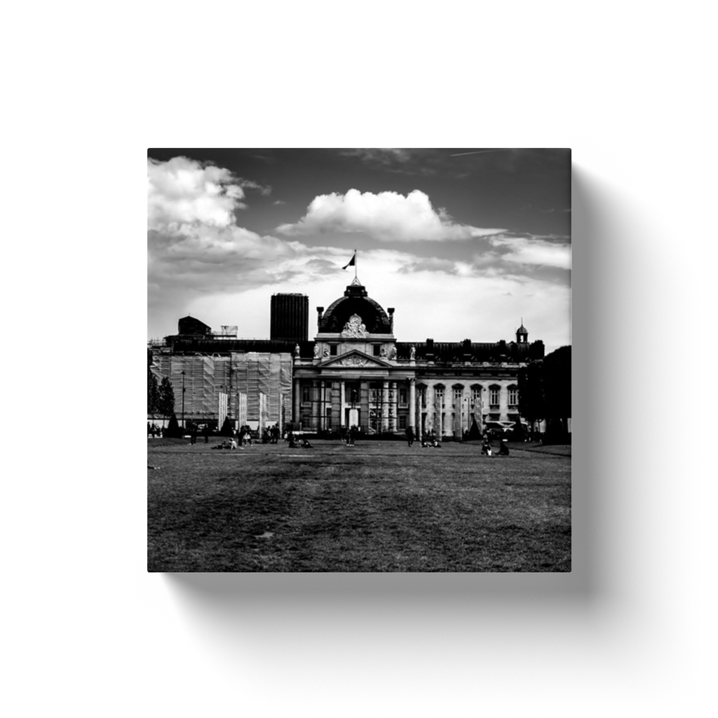 ecole militaire paris canvas print