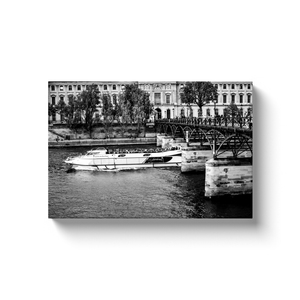 pont des arts paris canvas print