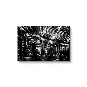 saint germain restaurant paris canvas print