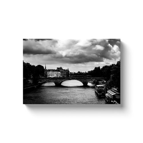 pont louis philippe paris canvas print