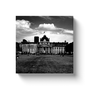 High Quality Paris Canvas Print - Ecole Militaire & Champ de Mars | Paris Noir & Blanc