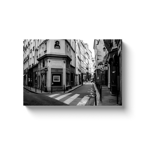 rue de seine paris canvas print