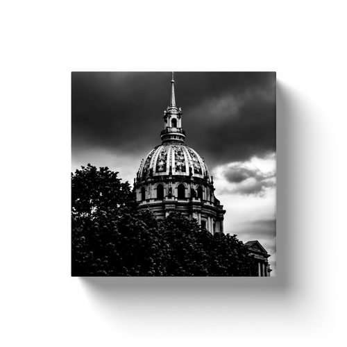 view of invalides paris canvas print