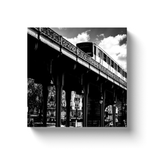 Load image into Gallery viewer, bir hakeim metro station paris canvas print
