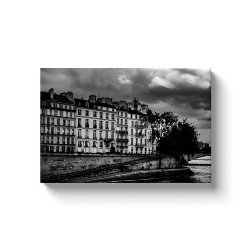 view of ile saint louis canvas print