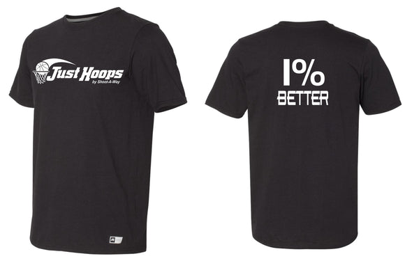 Just Hoops 1% Better Adult and Youth Tee