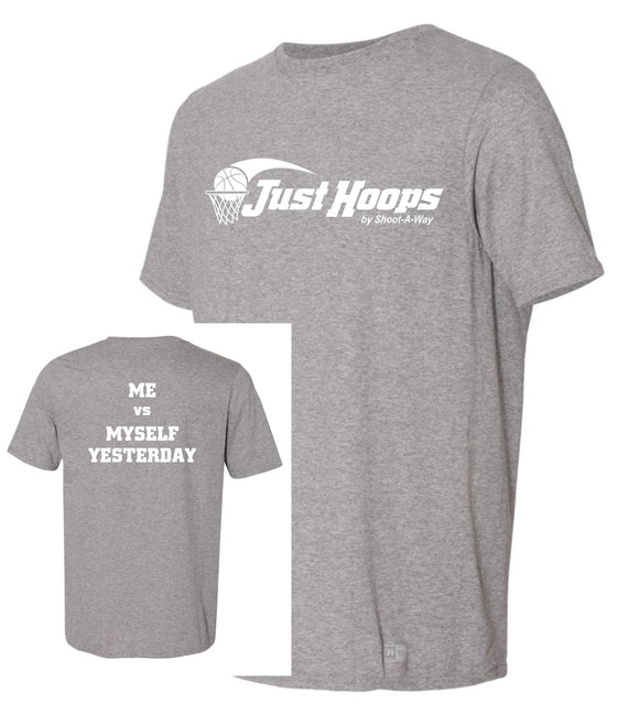 Just Hoops 2020 Camp Adult and Youth Tee-Oxford Gray