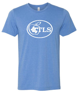 TLS Youth and Adult Super Soft  T-shirt - Columbia Blue