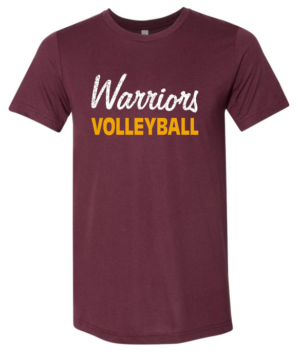 WNHS Boys Volleyball Adult Triblend Tee