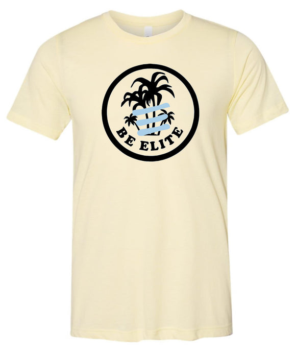 Elite VBTC Pale Yellow Adult Super Soft Triblend T