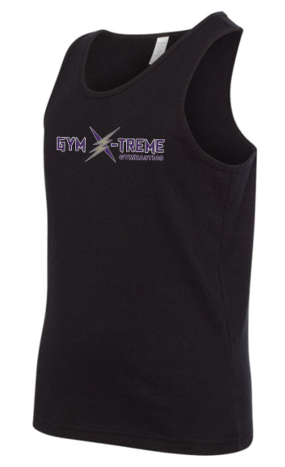 Gym X-treme Youth & Adult Tank Top- Black