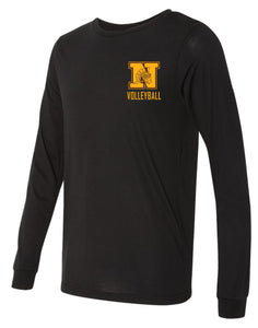 WNHS Boys Volleyball Long Sleeve Jersey T-shirt
