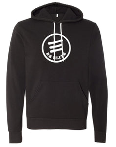 Elite Black BE ELITE Youth & Adult SUPER SOFT Hoodie