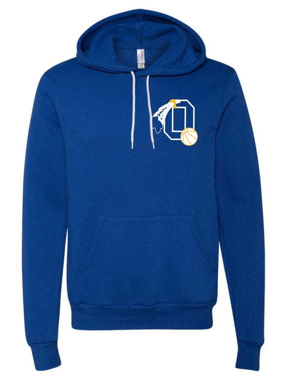 Braves Basketball Royal Super Soft Hoodie