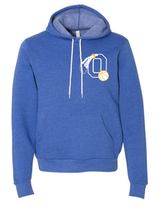 Braves Basketball Royal Heather Super Soft Hoodie