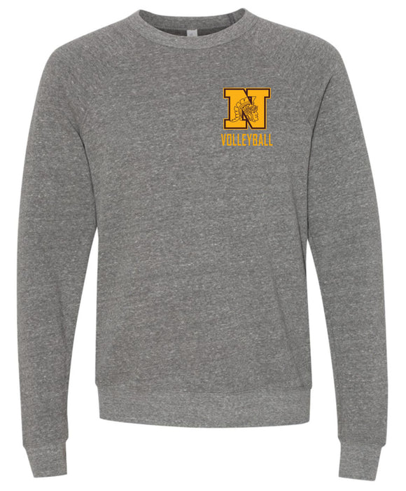 WNHS Boys Volleyball Youth and Adult Super Soft Crew Neck Sweatshirt
