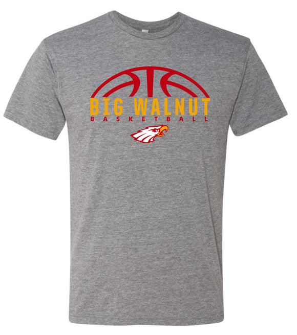 Big Walnut Basketball Super Soft Triblend T