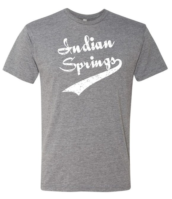 Indian Springs Youth & Adult Super Soft Triblend S/S Tee