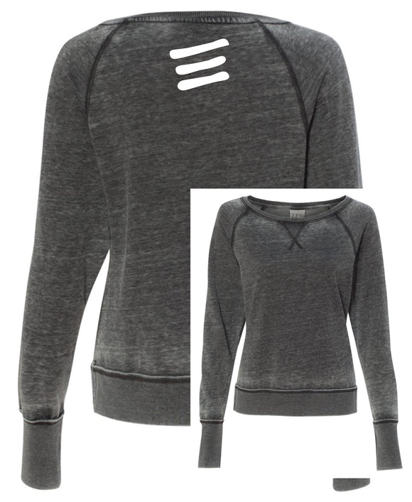 Elite Ladies Zen Fleece Raglan