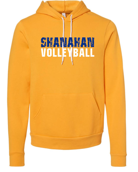 Shanahan Volleyball Gold Super Soft Hoodie