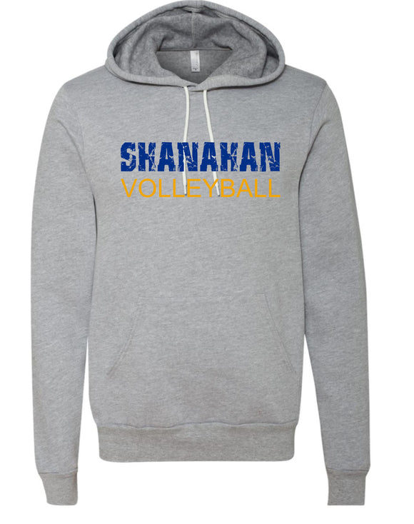 Shanahan Volleyball Light Gray Super Soft Hoodie