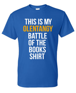 OFFICIAL Olentangy SHANAHAN Battle of the Books T-shirt