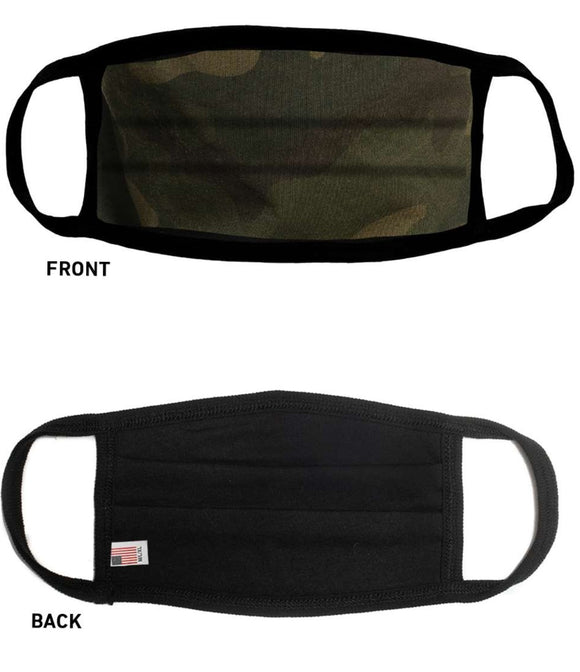 Sportsman Comfort Mask-Green Camo