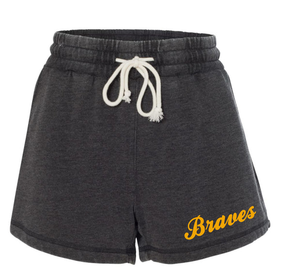 Braves Enzyme Washed Rally Shorts