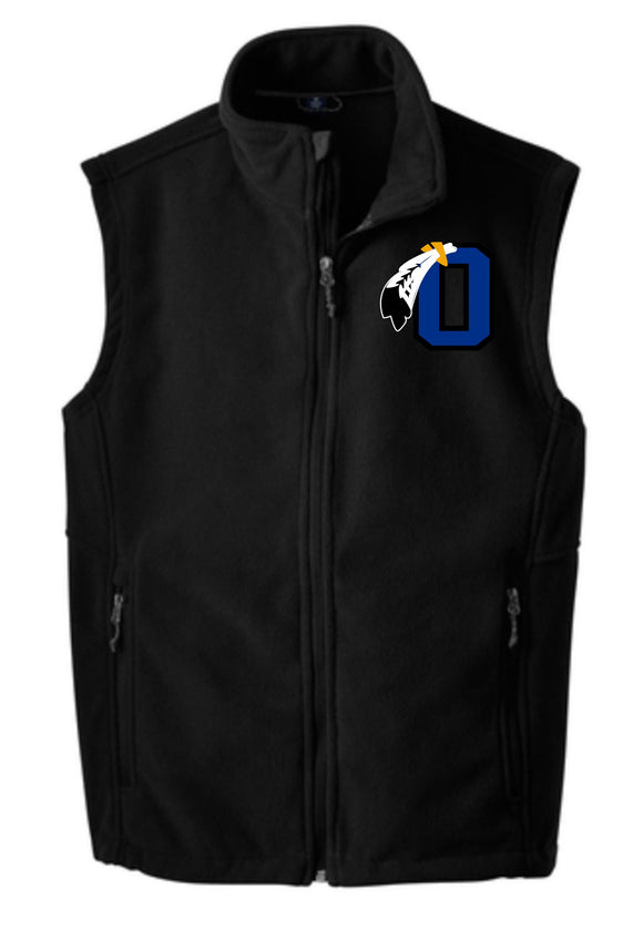 Braves Basketball Unisex Fleece Vest