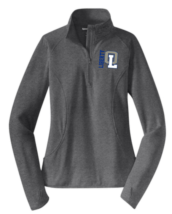 Liberty Ladies Cut Performance 1/2 Zip