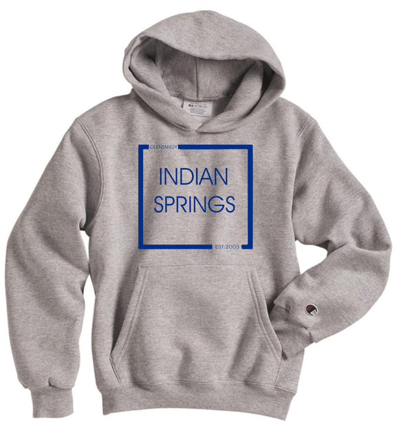 Indian Springs Adult CHAMPION Double Dry Eco Hoodie - Est. 2003